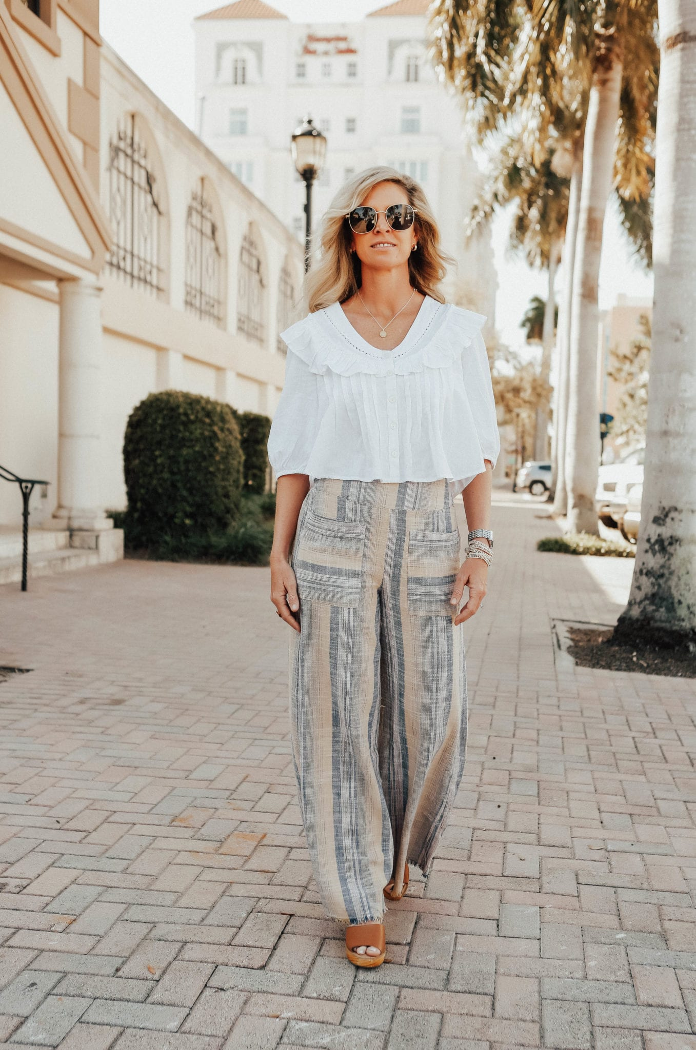 palazzo pants outfit ideas